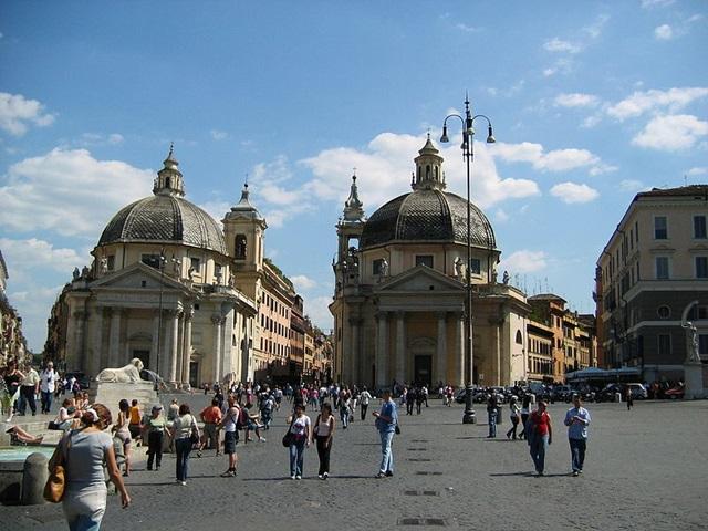 Piazza del popolo, Roma, Italy. Autor: Eugenia & Julian