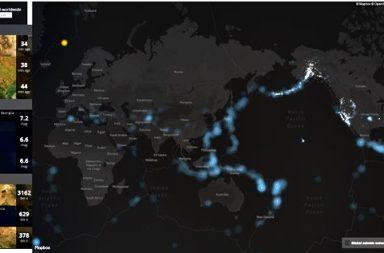 Cartografía terremotos