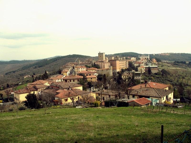 Castellina en Chianti. Fuente: Wikipedia