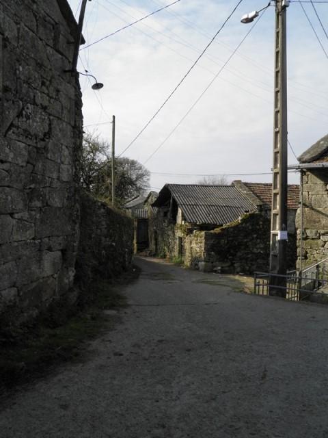 Aldea en el concello de O Irixo