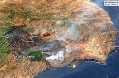 Incendio en Canarias 2019