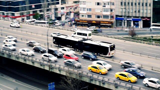 Contaminacion atmosferica por medios de transporte