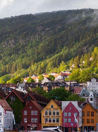 Noruega ciudad verde