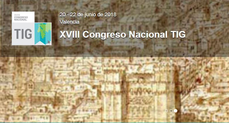 congreso Tecnologías de la información Geográfica