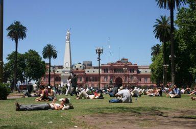 espacio público Argentina