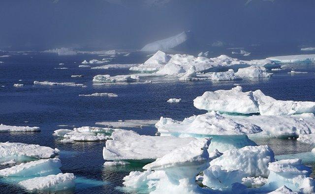 Icebergs en Groenlandia