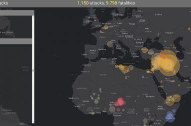 mapa del terrorismo 2016