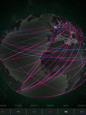 mapas de ciberataques