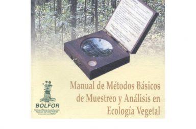 muestreo ecología vegetal