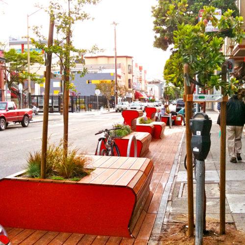 Parklet en San Francisco