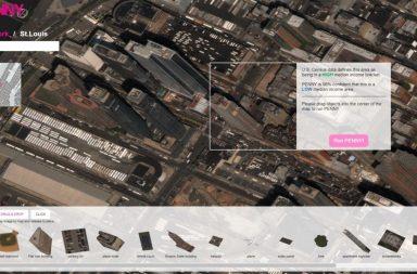 Penny aplicación cartográfica que identifca la riqueza