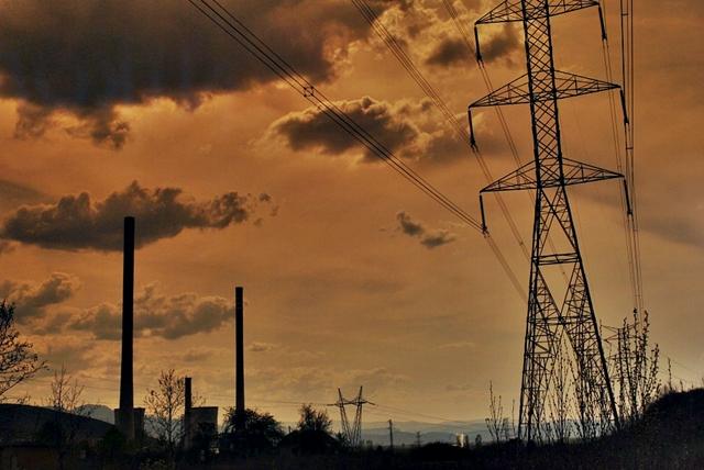 Tendidos eléctricos de alta tensión