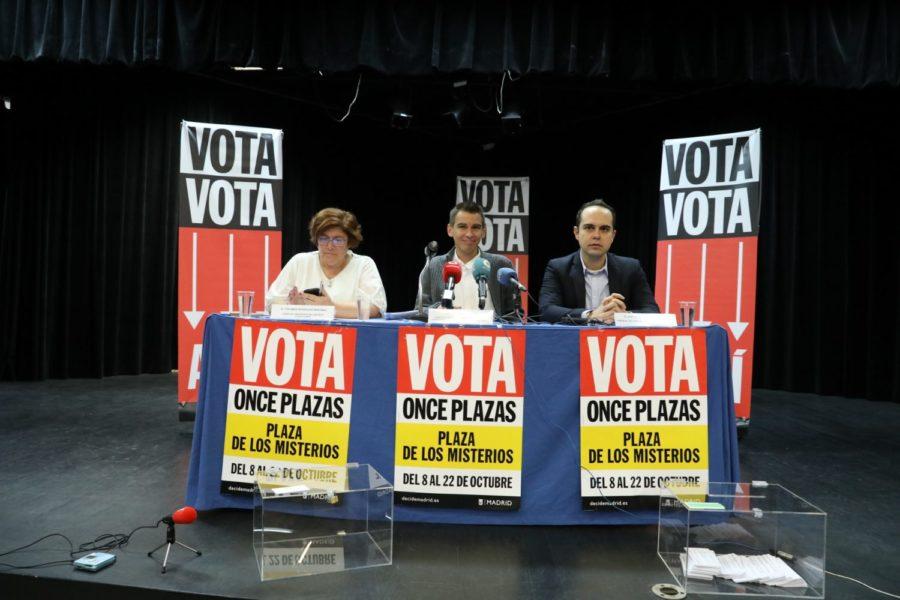 Madrid vota la remodelación de once Plazas de distritos